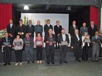 Câmara Municipal de SJN presta homenagens a personalidades distintas da nossa sociedade