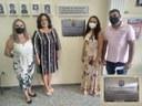 Legislativo instala placa em Homenagem ao Dia da Mulher