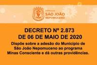 Prefeitura adere Minas Consciente e abrirá comércio por três dias